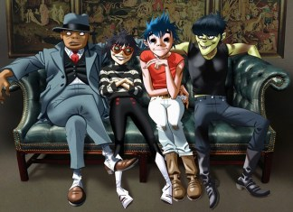 The Gorillaz Humans