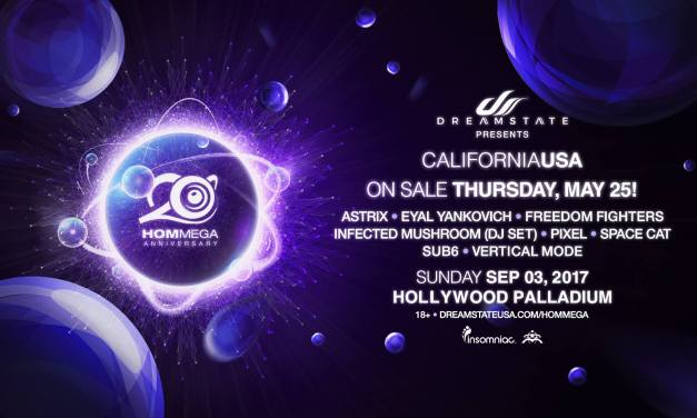 Dreamstate Presents 20 Years Of HOMmega || Preview