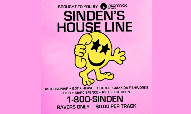 Insomniac Records Releases Free Compilation, Sinden's House Line!