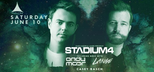 Stadium4, Andy Moor, & Lange @ Avalon Hollywood || Preview & Giveaway
