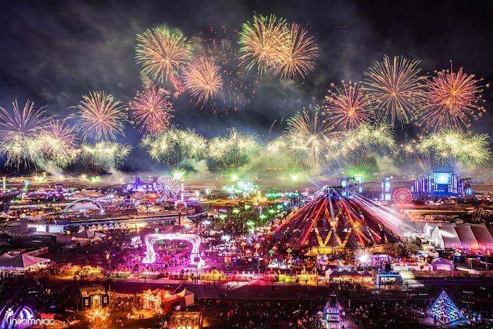 EDC Las Vegas Set Times Festival Map More EDM Identity - Edc las vegas map 2016
