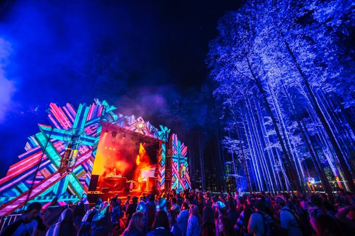 Electric Forest 2017 Forest Stage