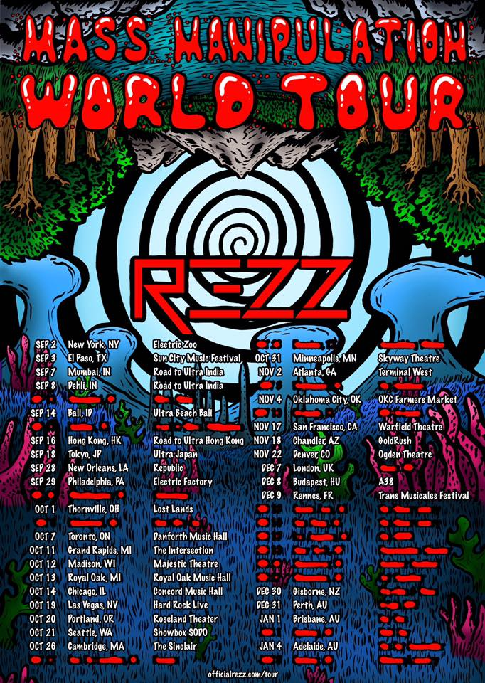 REZZ Mass Manipulation World Tour
