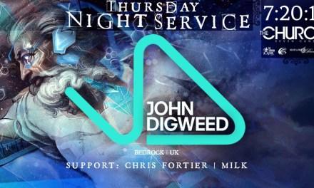 John Digweed @ The Church Nightclub || Event Preview