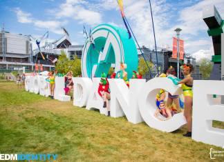 Global Dance Festival 2017 Sign