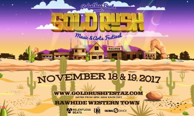 Goldrush Music Festival 2017    Phase 1 Lineup & Info!