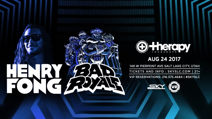 Henry Fong Bad Royale Therapy Thursdays