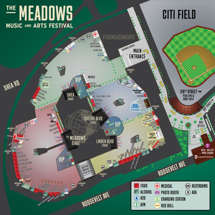 The Meadows 2017   Set Times, Festival Map, & More!   EDM Identity