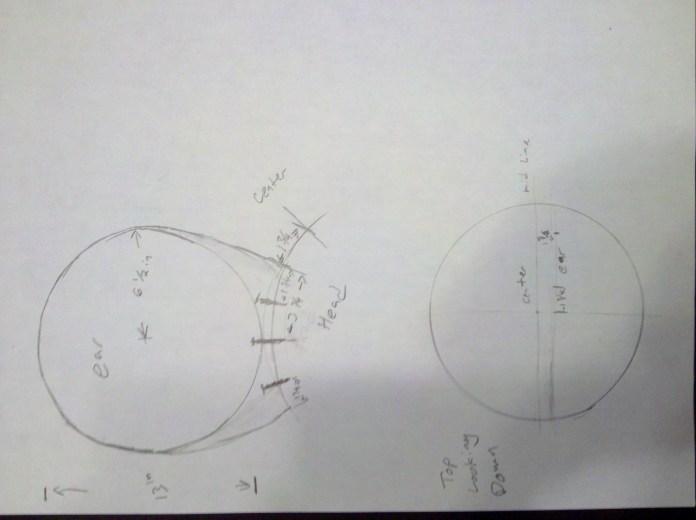 deadmau5 Ear Diagram