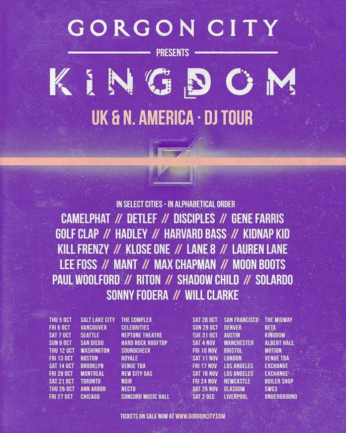 Gorgon City Kingdom Tour