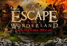 Escape From Wonderland 2011 Flyer