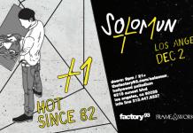 Factory 93 x Framework Solomun Hot Since 82