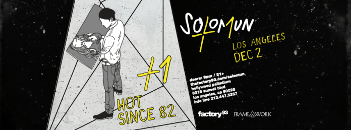 Factory 93 x Framework Solomun Hot Since 82