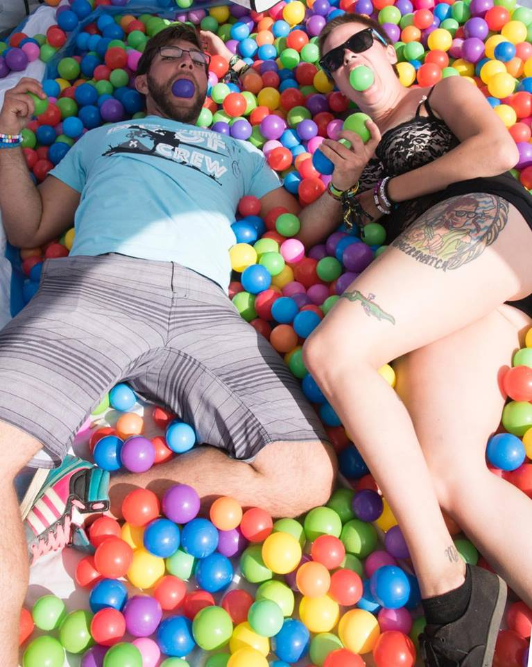 Lost Lands 2017 Camp Ball Pit
