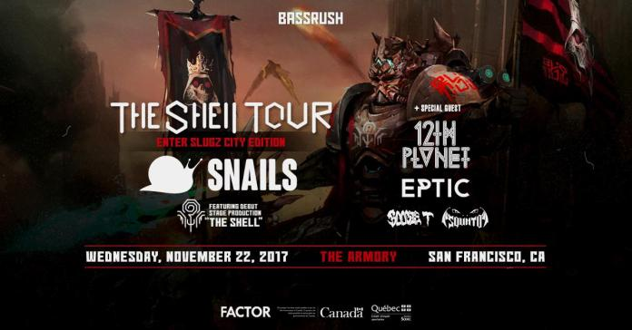 Snails - Shell Tour SF