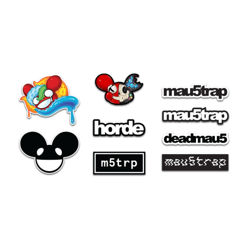 mau5trap stickers