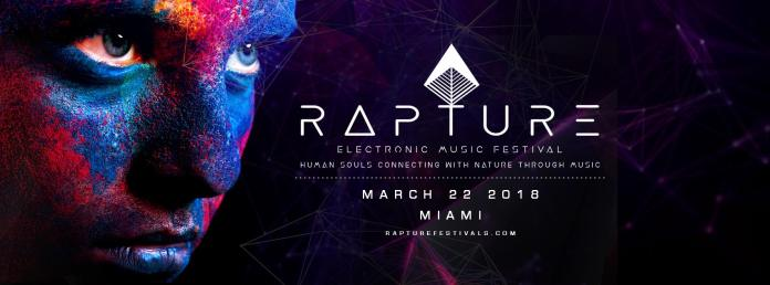 Rapture Electronic Music Festival 2018 Banner