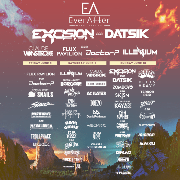 Image result for ever after 2018 lineup