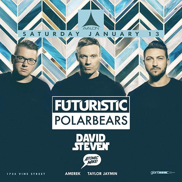 Futuristic Polar Bears Avalon