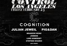 Cognition Presents Julian Jeweil Pig&Dan at Control