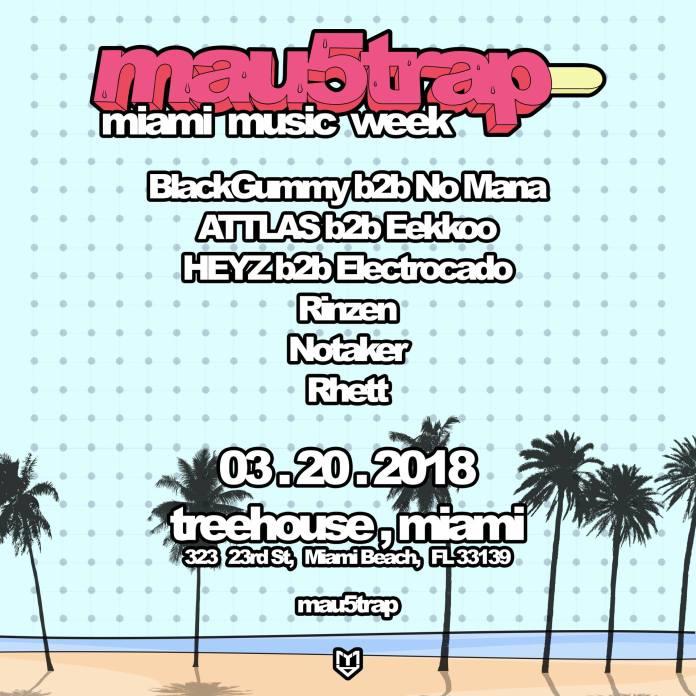 mau5trap mmw 2018 flyer