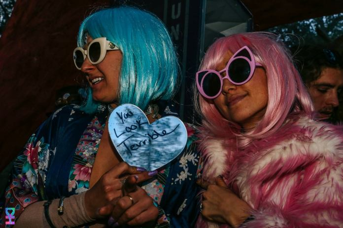 Desert Hearts Festival Fashion: Wigs