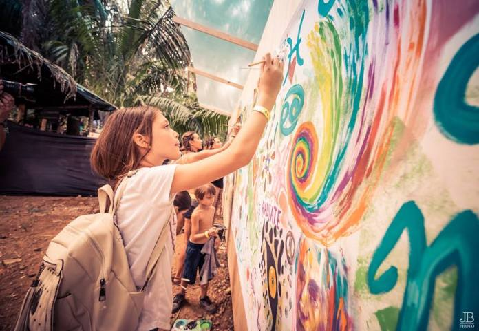 Envision Festival Painting