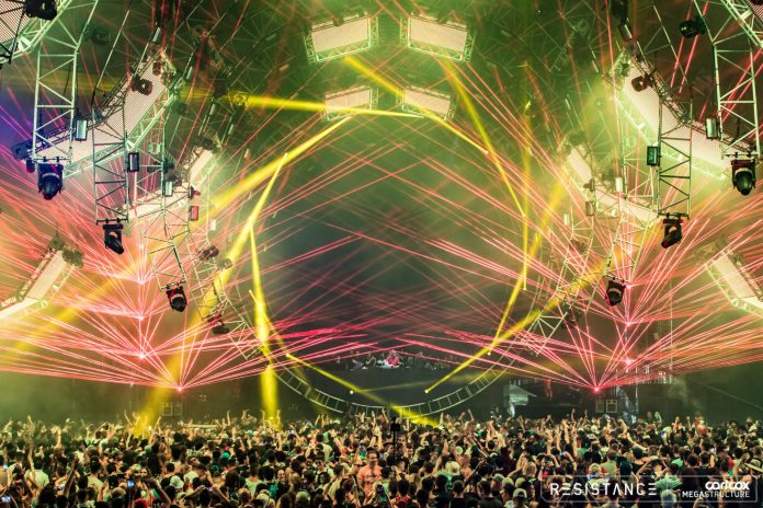 Ultra Music Festival 2018 RESISTANCE Carl Cox & Friends Megastructure