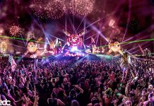 EDC Las Vegas 2017 bassPOD Fireworks EDCLV