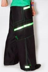 Phat Pants Reflective Green
