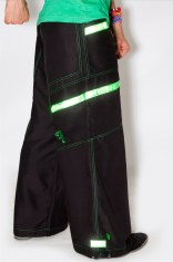 Phat Pants Reflective Green
