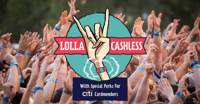 "Lollapalooza introduced ""Lolla Cashless"""
