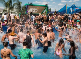 EDC Las Vegas 2018 Camp EDC Pool Party