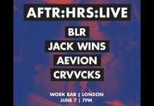 AFTR:HRS Live Stream Flyer