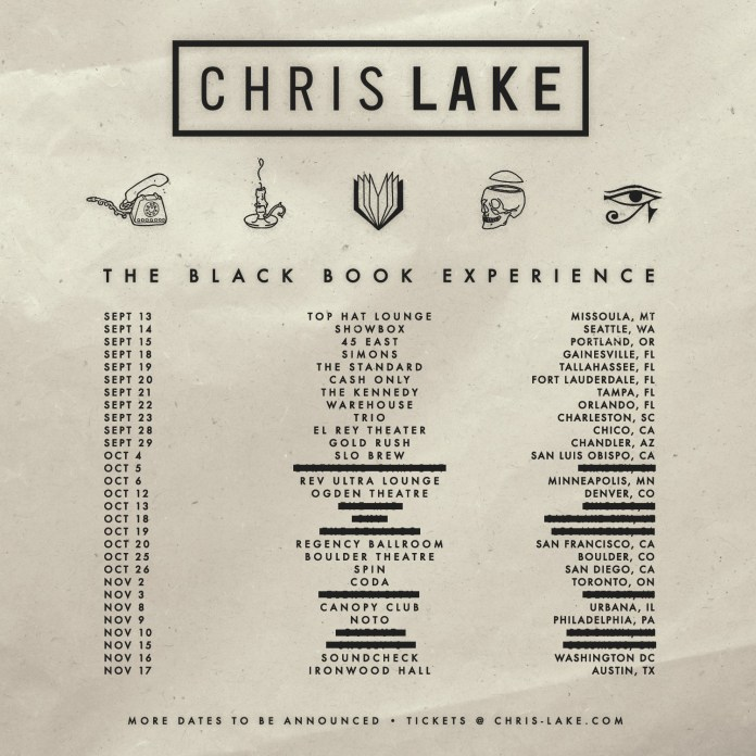 Chris Lake The Black Book Experience Fall Tour