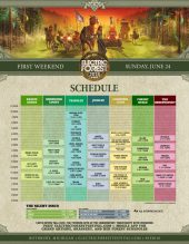 Electric Forest 2018 Wknd 1 Set Times Sunday