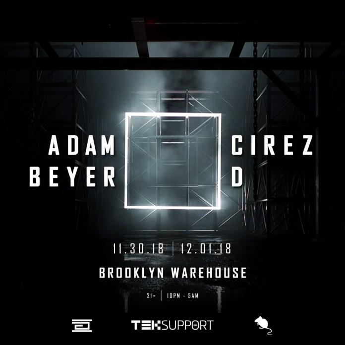 Adam Beyer x Cirez D New York Flyer
