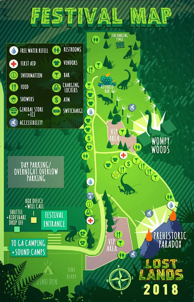 lost lands festival map