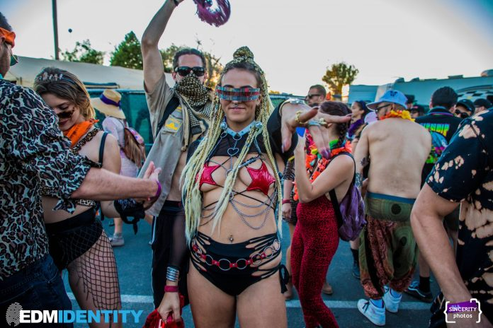 Fashionista at Dirtybird Campout West