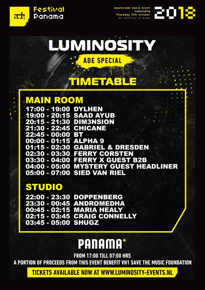 Luminosity ADE Special A Night of Unity