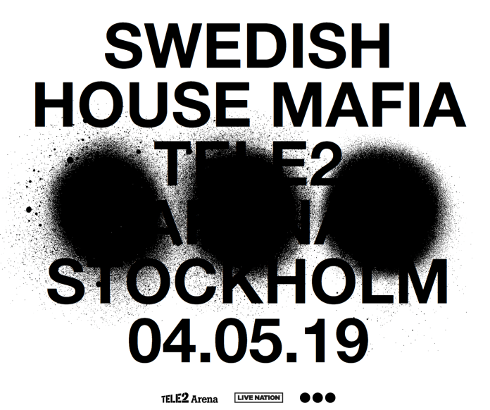 Swedish House Mafia Tele2 Arena Announcement