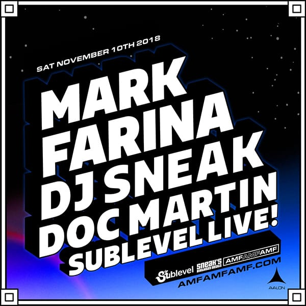 Mark Farina, DJ Sneak, and Doc Martin at Avalon Hollywood