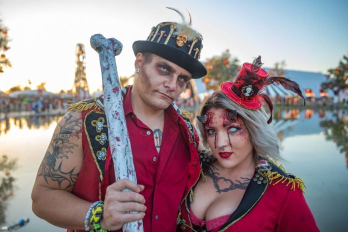 Escape: Psycho Circus 2018 Undead Circus Performers