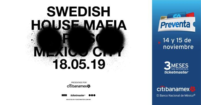 Swedish House Mafia Mexico City 2019