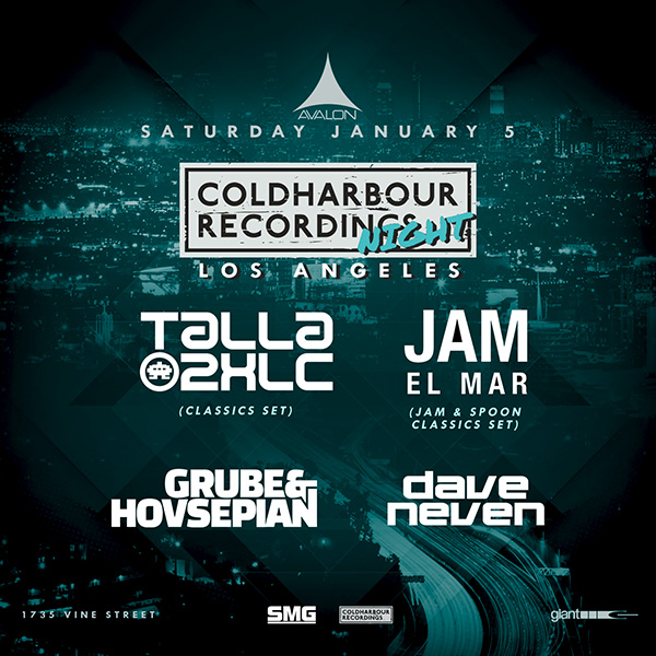 Coldharbour Night Avalon Hollywood 2019