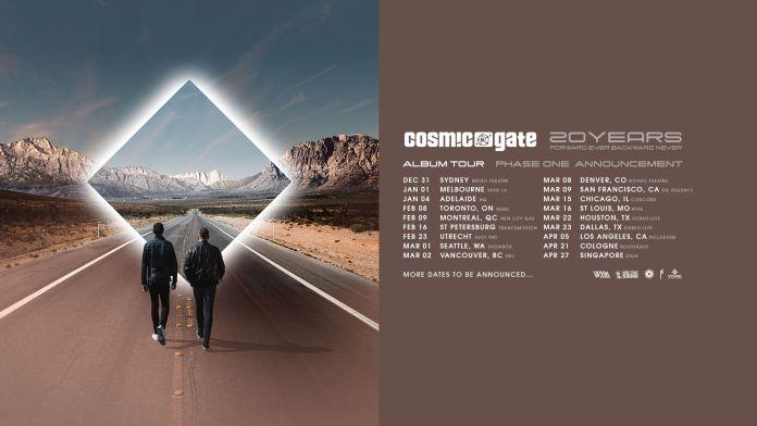Cosmic Gate - 20 Years - Forward Ever, Backward Never Tour
