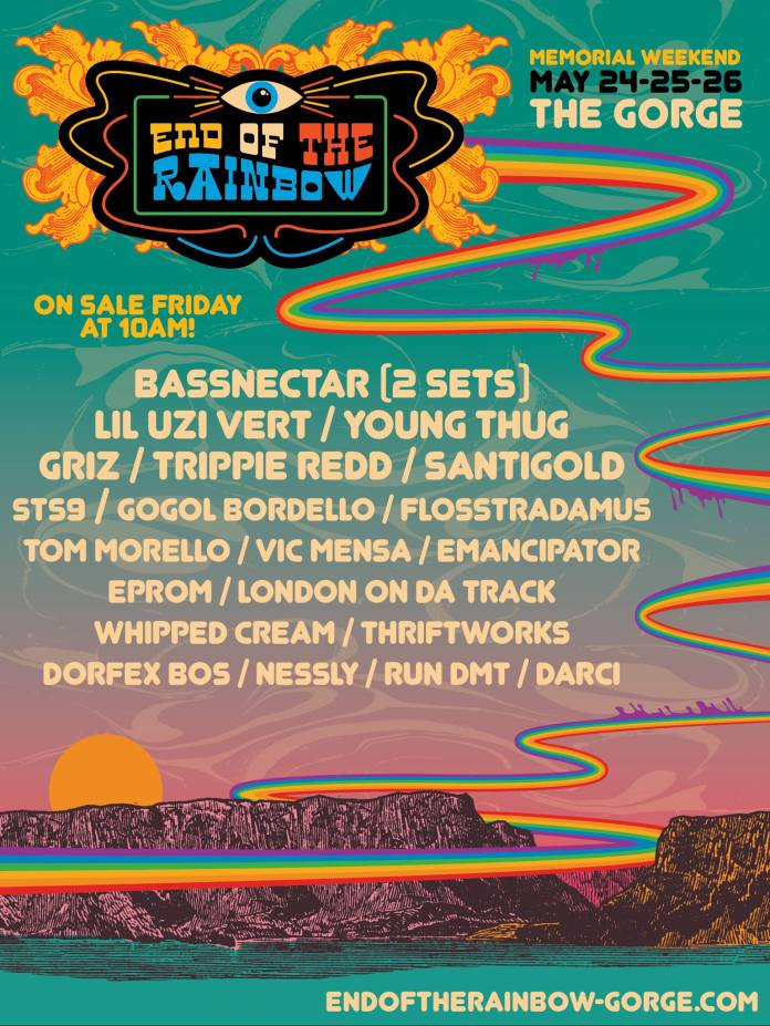 End of the Rainbow 2019 Lineup