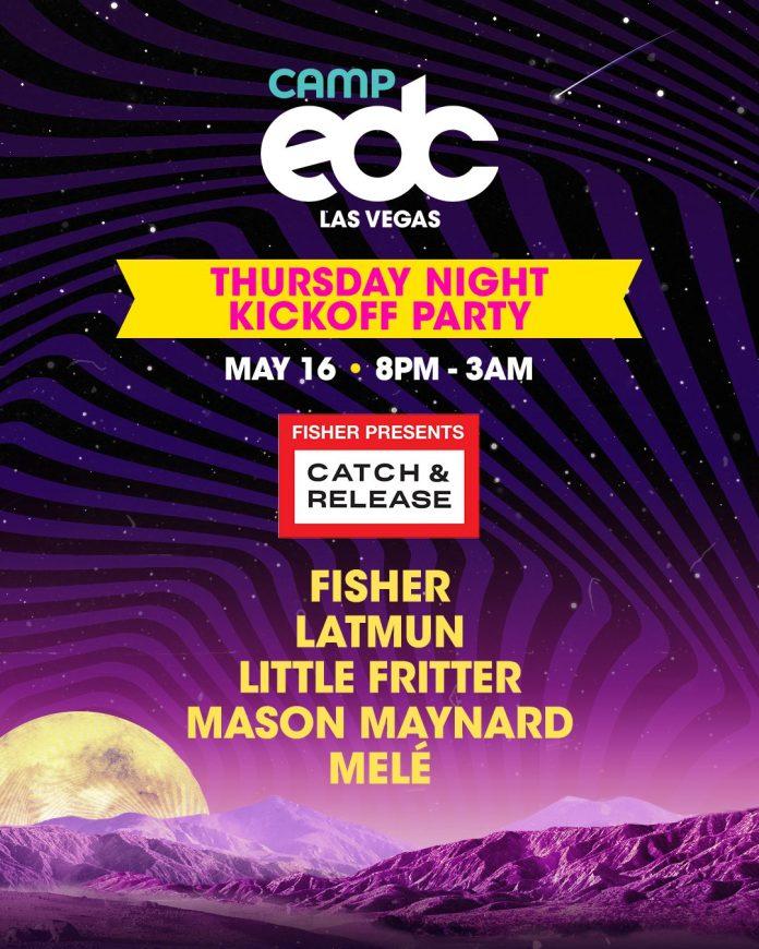 Camp EDC 2019 Thursday Night Kickoff Party Lineup