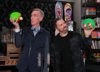 Pasquale Rotella and Bill Nye Kinetic Energy EDC Las Vegas 2019