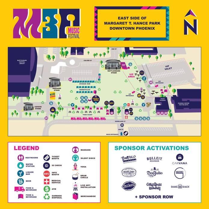M3F 2019 Festival Map